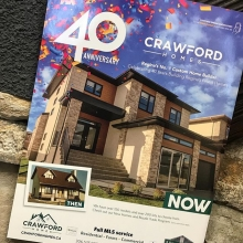 Crawford Homes is celebrating 40 Years of building homes in Regina! Check out our story in the newest Refined Homes magazine!  @refinedyqr  #yqr #local #realestate #crawfordhomes #crawfordhomesfortyyearsstrong
