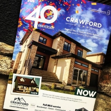 Did you know that Crawford Homes is celebrating 40 years of business in 2018! We are a local, family owned and operated business. Our trades are local and our suppliers are too! You can't get much more home grown than!  #crawfordhomesfortyyearsstrong #y